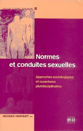 Normes et conduites sexuelles