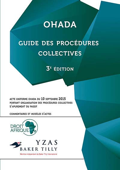 OHADA : guide des procédures collectives