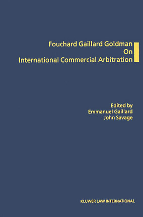 On International Commercial Arbitration
