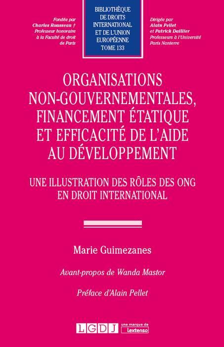 Organisations non-gouvernementales, financement étatique et efficacité de l'aide au développement