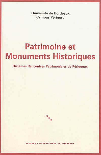 Patrimoine et monuments historiques
