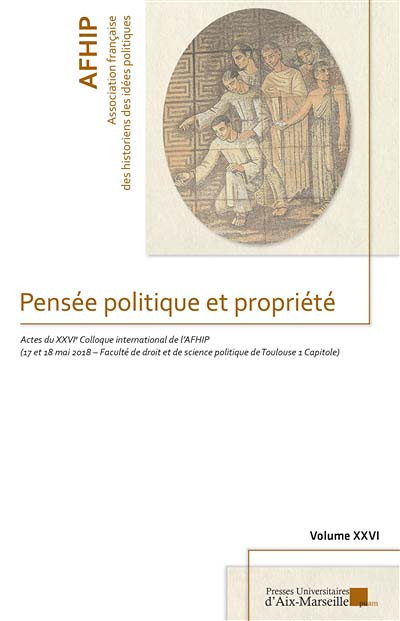 Pensée politique et propriété