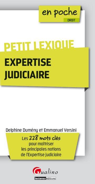 Petit lexique - Expertise judiciaire