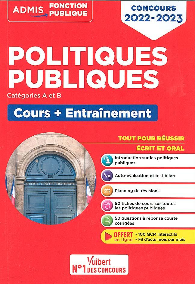 Politiques publiques : concours 2022-2023
