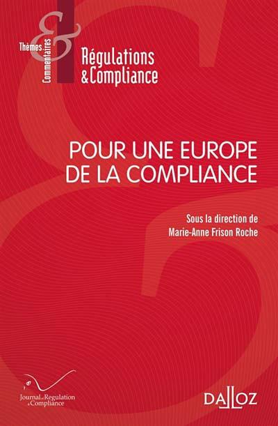 Pour une Europe de la compliance