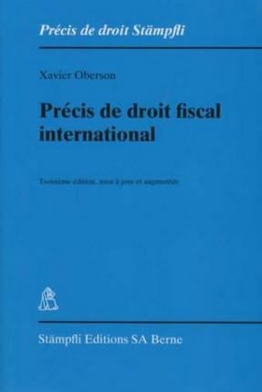 Précis de droit fiscal international