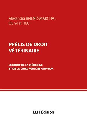 Précis de droit vétérinaire