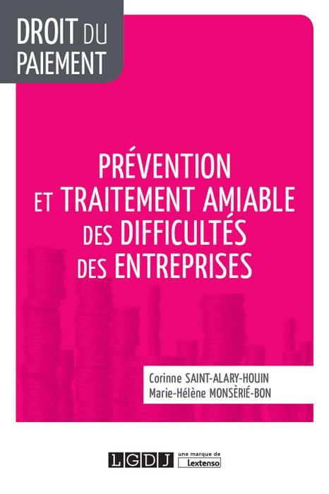 [EBOOK] Prévention et traitement amiable des difficultés des entreprises