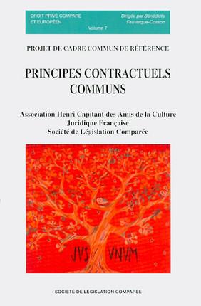 Principes contractuels communs