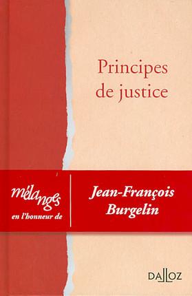 Principes de justice