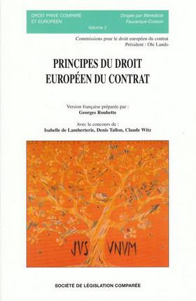 Principes du droit européen du contrat