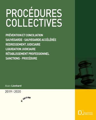 Procédures collectives 2019-2020