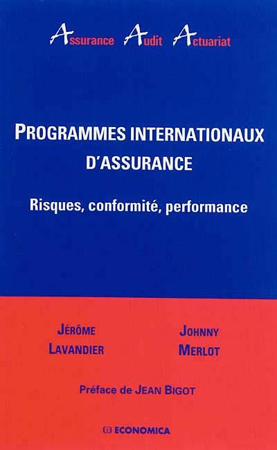 Programmes internationaux d'assurance