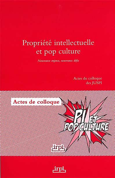 Propriété intellectuelle et pop culture