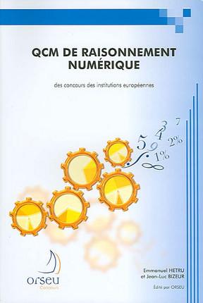 QCM de raisonnement numérique des concours des institutions européennes