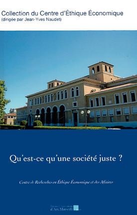 Qu'est-ce qu'une société juste ?