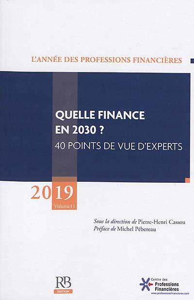 L'année des professions financières 2019