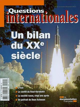 Questions internationales, novembre-décembre 2011 N°52