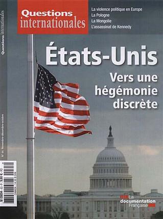 Questions internationales, novembre-décembre 2013 N°64