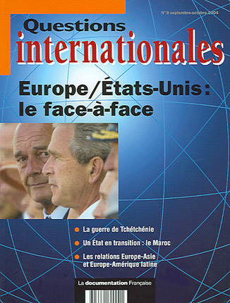 Questions internationales, septembre-octobre 2004 N°9