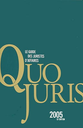 Quo juris 2005