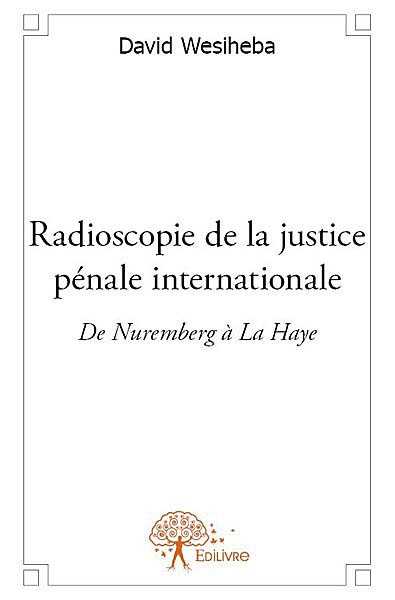 Radioscopie de la justice pénale internationale