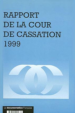 Rapport de la Cour de cassation 1999