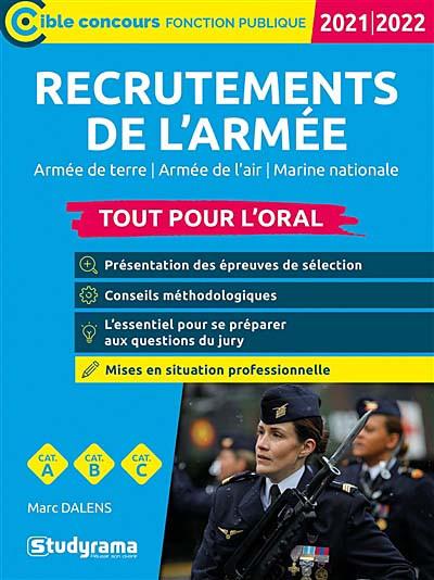 Recrutements de l'armée : tout pour l'oral 2021-2022