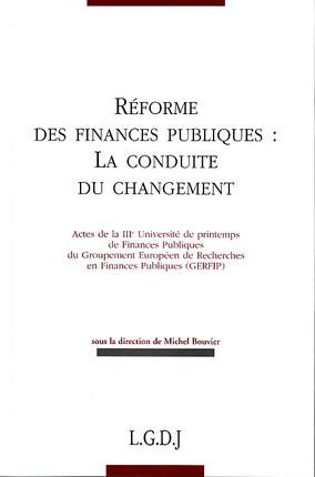 Réforme des finances publiques : la conduite du changement