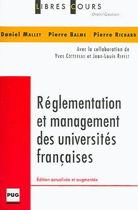 Réglementation et management des universités françaises