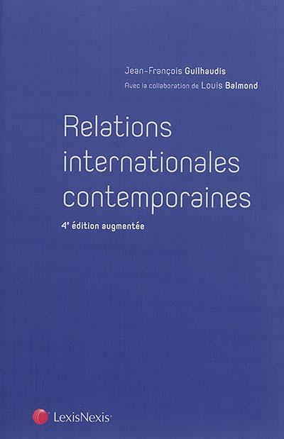 Relations internationales contemporaines