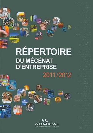 Répertoire du mécénat d'entreprise 2011-2012