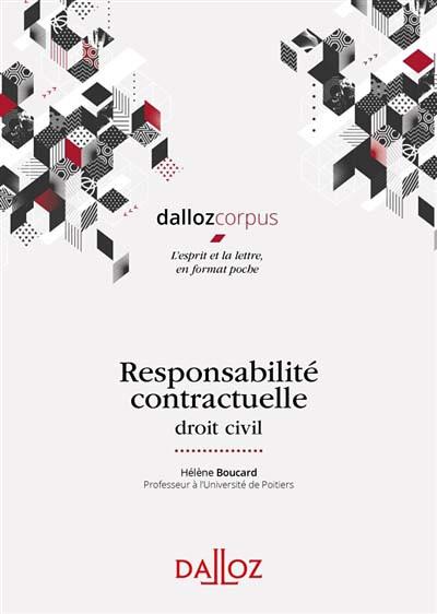 Responsabilité contractuelle