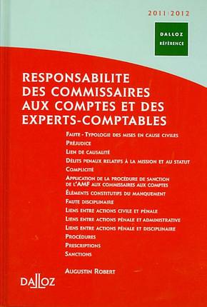 Responsabilité des commissaires aux comptes et des experts comptables 2011-2012