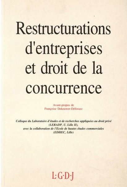 Restructurations d'entreprises