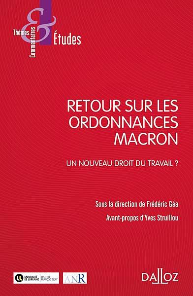Retour sur les ordonnances Macron