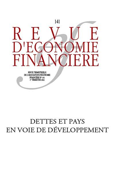 Revue d'économie financière, 1er trimestre 2021 N°141