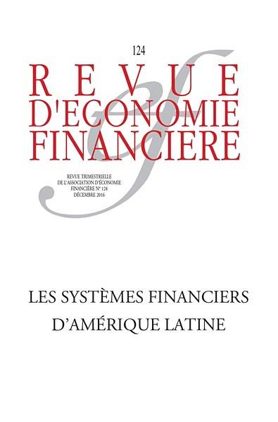 Revue d'économie financière, décembre 2016 N°124