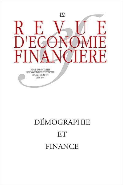 Revue d'économie financière, juin 2016 N°122