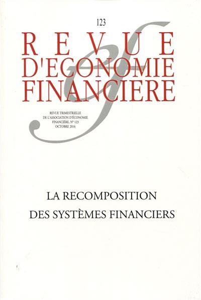 Revue d'économie financière, octobre 2016 N°123