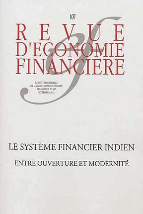 Revue d'économie financière, septembre 2012 N°107