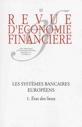 Revue d'économie financière, septembre 2013 N°111