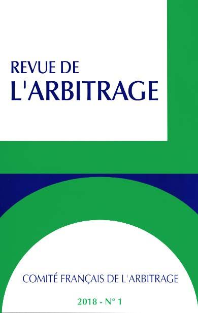 REVUE DE L'ARBITRAGE