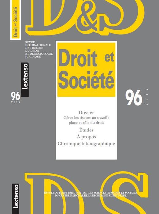 Revue Droit et Société, 2017 N°96