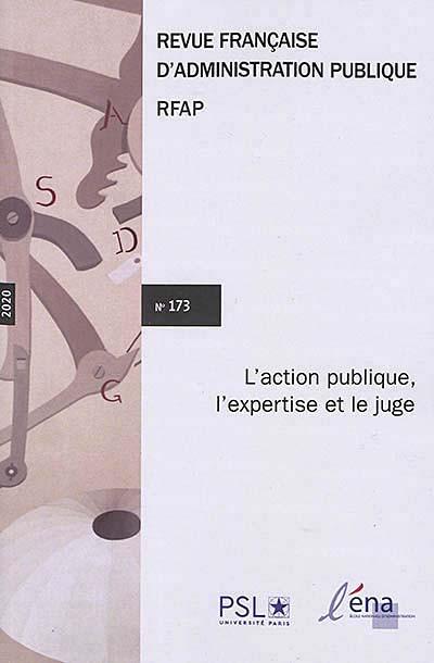 Revue Française d'Administration Publique, 2020 N°173