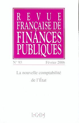 Revue Française de Finances Publiques, février 2006 N°93