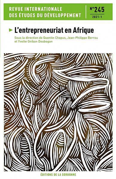Revue internationale des études du développement, 2021-1 N°245