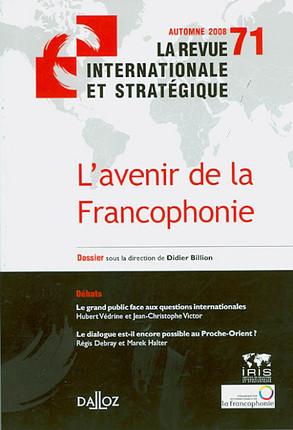 Revue internationale et stratégique, automne 2008 N°71