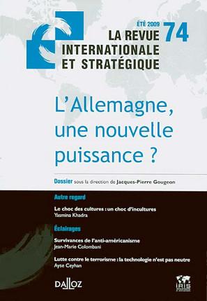 Revue internationale et stratégique, été 2009 N°74