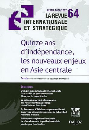 Revue internationale et stratégique, hiver 2006-2007 N°64